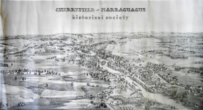 Cherryfield Historical Map